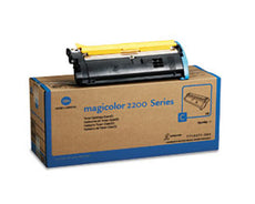 Konica Minolta 1710471-004 OEM Toner Cartridge For MagiColor 2200 Cyan - 6K