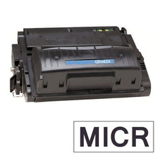 Compatible HP Q5942X, 42X MICR Toner Cartridge For LaserJet 4250, 4350 Black - 20K
