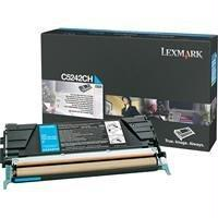 OEM Lexmark C5242CH Toner Cartridge Cyan - High Yield (5,000 Yield)