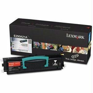OEM Lexmark E250A21A Toner Cartridge For E250, E350, E352 - Black - 3.5K