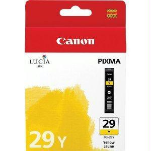 OEM Canon Lucia PGI-29y Ink Cartridge - Yellow - Inkjet - 1 Pack