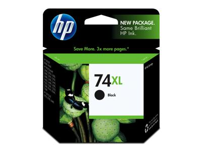 Original HP 74XL, CB336WN Ink Cartridge - Black - High Yield - 750 Pages