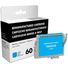 Compatible Epson 60, T0602, T060220 Ink Cartridge Cyan - 450