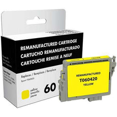 Compatible Epson 60, T0604, T060420 Ink Cartridge Yellow - 450