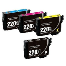 Compatible Epson T220XL Ink Cartridge for T220XL120, T220XL220, T220XL320, T220XL420 - Value Pack
