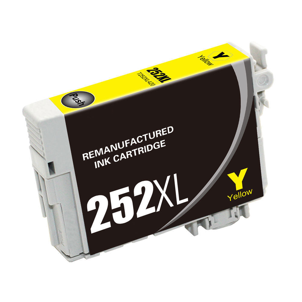 Compatible Epson T252XL420 Ink Cartridge For WorkForce WF3620 Yellow - 1.1K