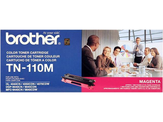 OEM Brother TN-110M Toner Cartridge For DCP-9040CN Magenta - 1.5K