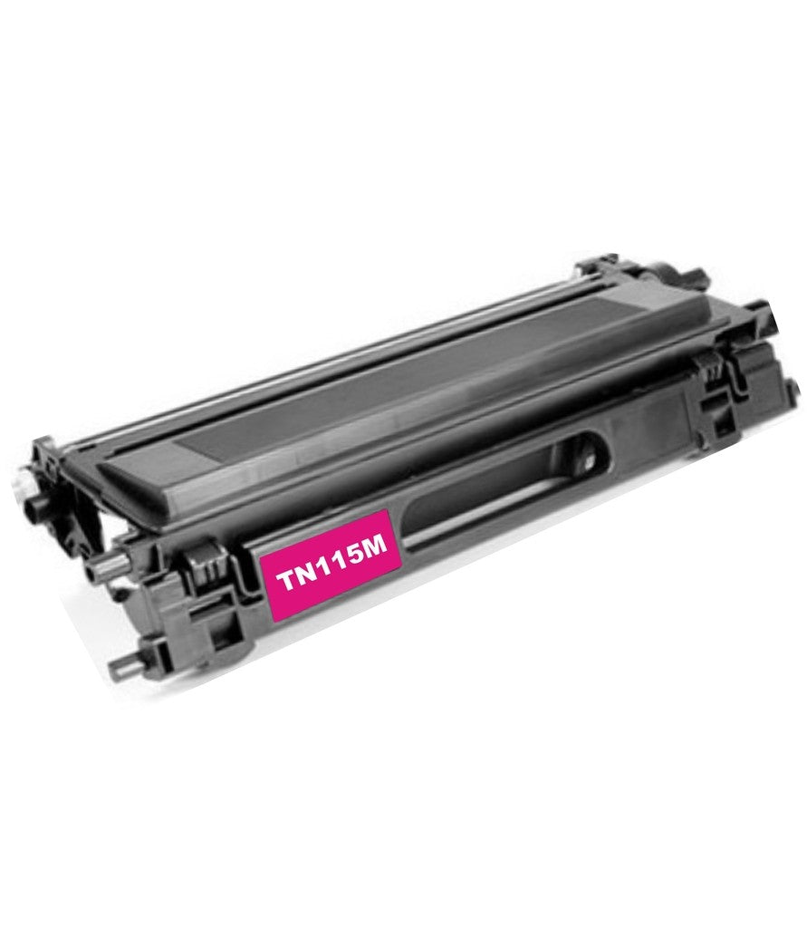 Compatible Brother TN115M, TN-115M Toner Cartridge Magenta - 4K