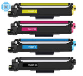 Compatible Brother TN227 Toner Cartridges (BCYM) - 4 Pack - 3000 Pages