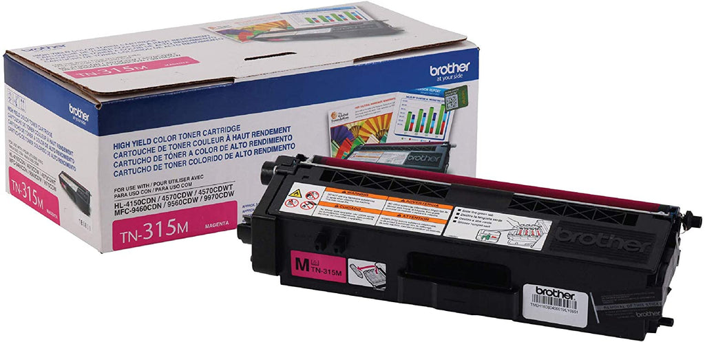 OEM Brother TN-315M, TN315M Toner Cartridge For HL-4150CDN Magenta - 3.5K