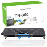 Premium Compatible Brother TN360, TN-360 Toner Cartridge For HL-2140, MFC-7320 Black - 2.6K