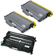 Compatible Brother TN360 X 2 Toner & DR360 X 1 Drum - Value Pack