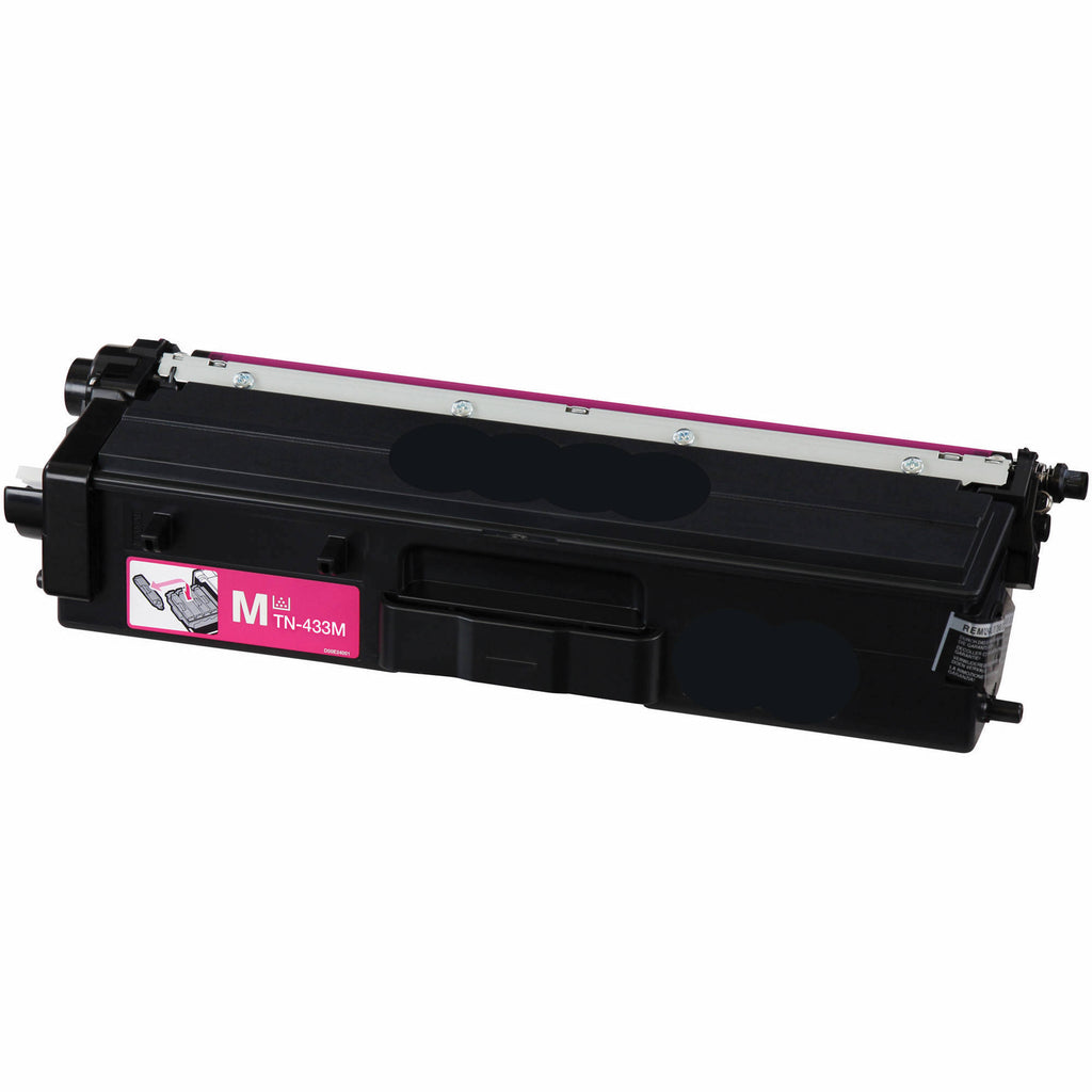 Compatible Brother TN433M, TN-433M Toner Cartridge For HL-L8260CDW Magenta - 4K