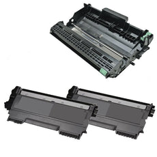 Compatible Brother TN450 X 2 Toner & DR420 X 1 Drum for MFC 7240, HL 2130 - Value Pack