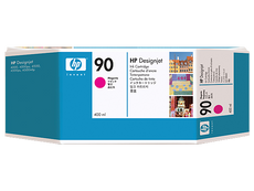 OEM HP 90, C5063A DesignJet Ink Cartridge - Magenta - 400ml