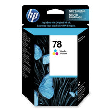 Original HP 78, C6578DN Ink Cartridge Tri-Colour - Cyan, Magenta, Yellow - 560 Pages