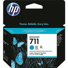 Original HP 711, CZ130A DesignJet Ink Cartridge - Cyan - 29ml