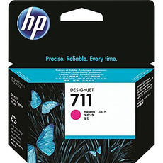 Original HP 711, CZ131A DesignJet Ink Cartridge - Magenta - 29ml