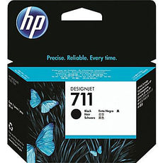 Original HP 711, CZ133A DesignJet Ink Cartridge - Black - 80ml
