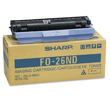 Sharp FO-26ND OEM Toner Cartridge For FO 2600, FO 2700 Black - 3K