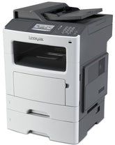Lexmark MX611DHE Mono Laser Multifunction Printer, Copier/Fax/Printer/Scanner