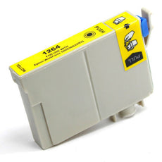 Compatible Epson T126420 Ink Cartridge - Yellow - 470 Pages