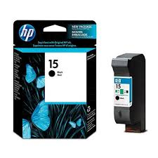 Original HP 15, C6615DN Ink Cartridge - Black - Inkjet - 500 Page