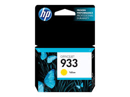 Original HP 933, CN060AN InkJet Ink Cartridge - Yellow - 330 Pages