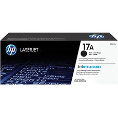 OEM HP CF217A, 17A Black LaserJet Toner Cartridge - Black - 1600 Pages