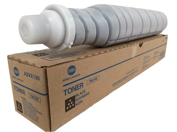 OEM Konica Minolta A3VX130, TN-619K Toner Cartridge - Black - 66500 Pages