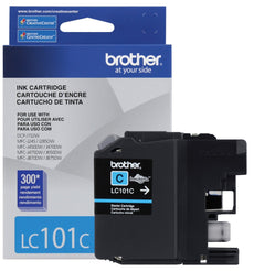 OEM Brother LC101CS, LC101C Ink Cartridge For MFC J470DW Cyan - 300