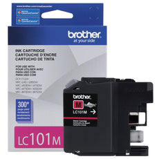 OEM Brother LC101MS, LC101M Ink Cartridge For MFC J470DW Magenta - 300