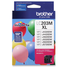 OEM Brother LC203M Ink Cartridge - Magenta - High Yield - 550 Pages