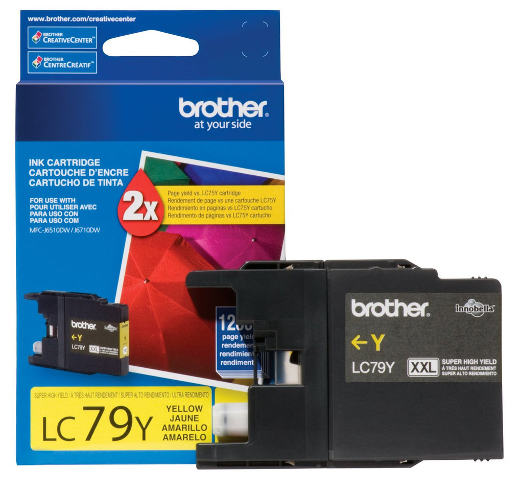 OEM Brother LC79YS Ink Cartridge For MFC J6510DW Yellow - 1.2K