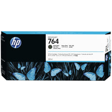OEM HP 764, C1Q16A Ink Cartridge - Matte Black - 300ml