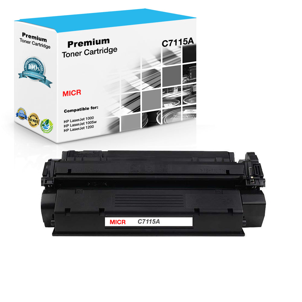 6 PK C7115A 15A Laser Toner Cartridge For HP Laser 1200 3310 3320 MFP Printers