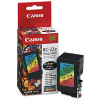 OEM Canon BC-22 Ink Cartridge 4-Color