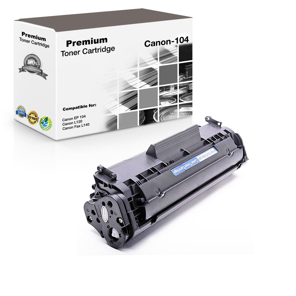 Compatible Canon 104, FX9, 0263B001 Toner Cartridge - Black - 2K