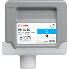 Canon 1487B001, PFI-301C OEM Ink Cartridge Cyan - 330ml