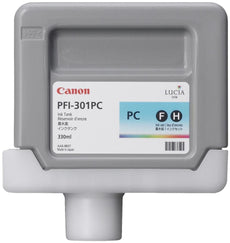 Canon 1490B001, PFI-301PC OEM Ink Cartridge Photo Cyan - 330ml