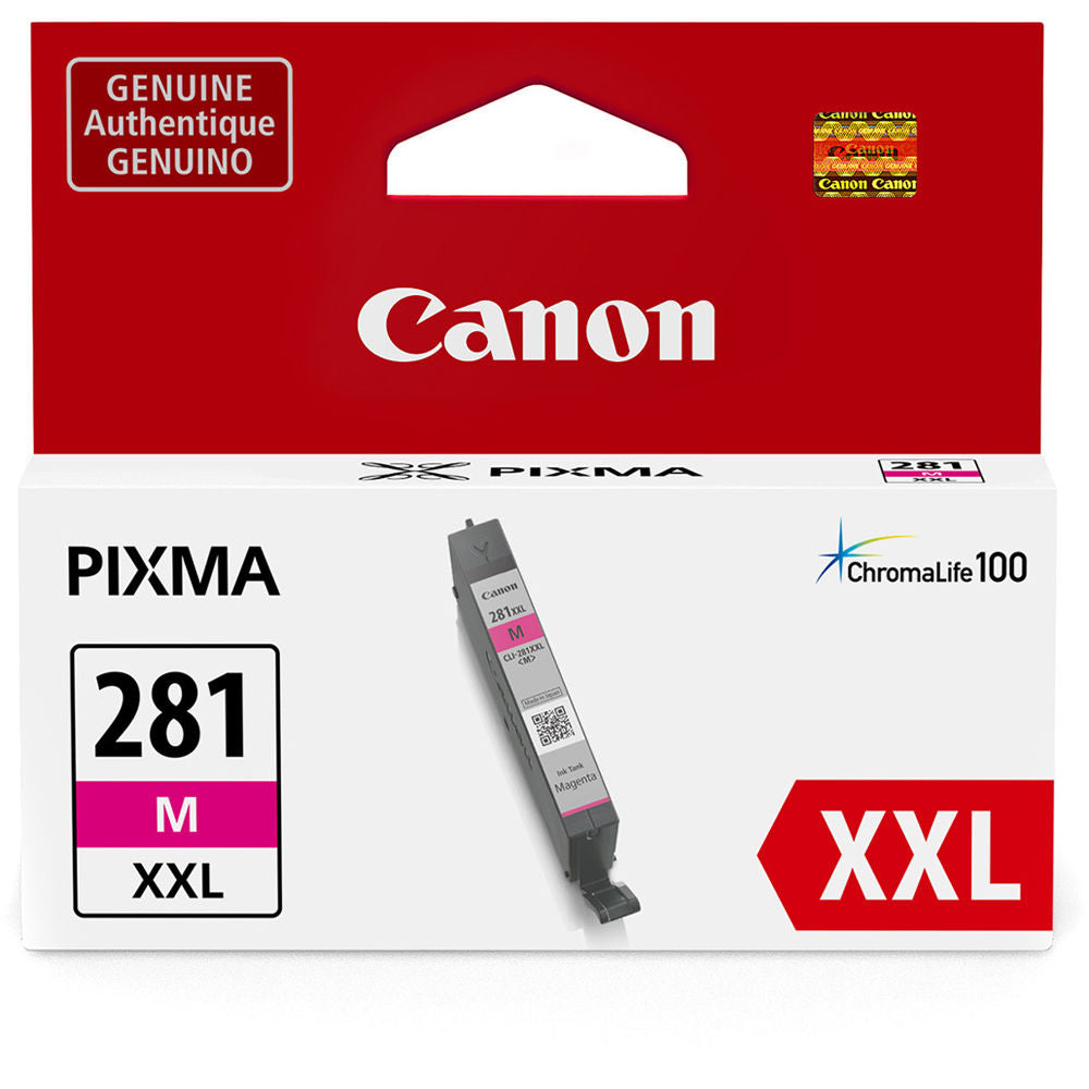 OEM Canon CLI-281XXL, 1981C001 Ink Cartridge - Magenta