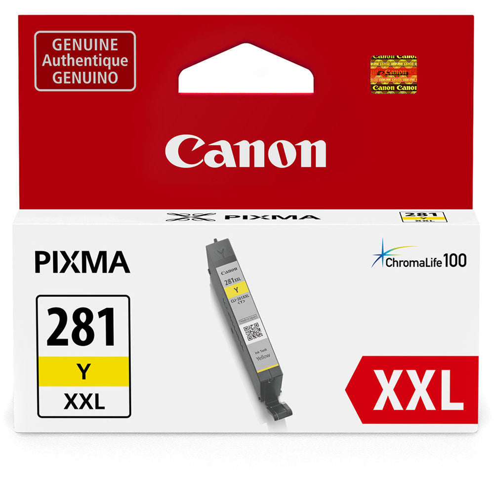 OEM Canon CLI-281XXL, 1982C001 Ink Cartridge - Yellow