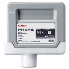 Canon 2957B001, PFI-303MBK OEM Ink Cartridge Matte Black - 330