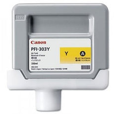 Canon 2961B001, PFI-303Y OEM Ink Cartridge Yellow - 330