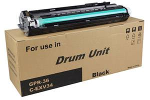 OEM Canon 3786B004BA, GPR-36 Imaging Drum For imageRUNNER ADVANCE C2020 Black - 40K