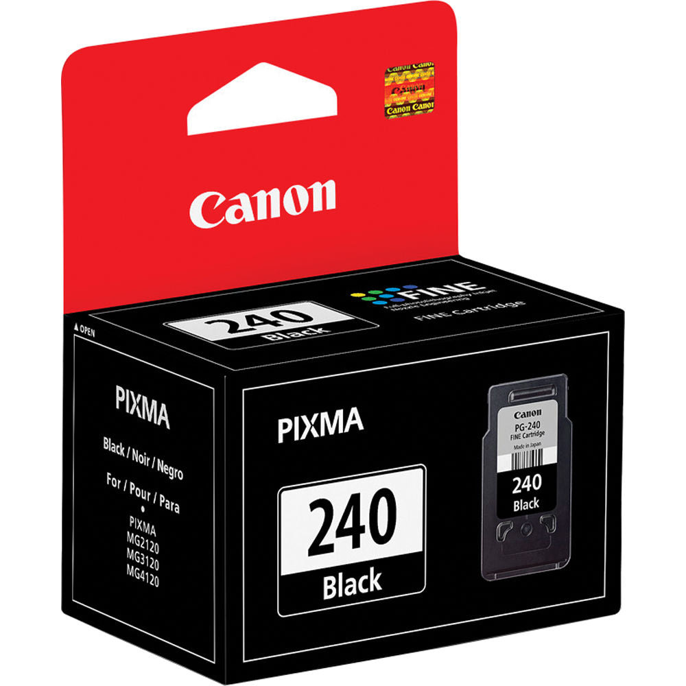 Canon 5207B001, PG-240 OEM Black Ink Cartridge - 180 Pages