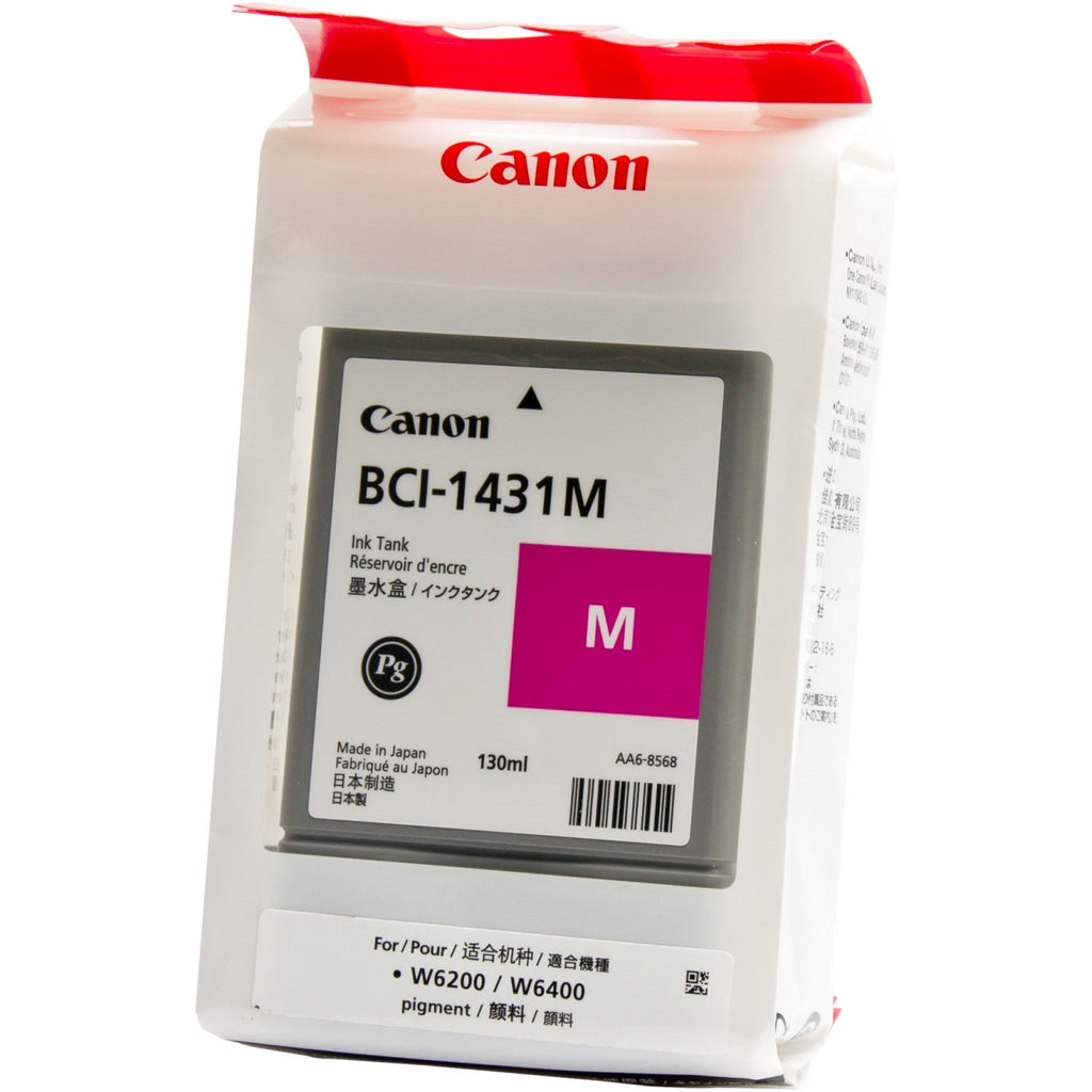 OEM Canon BCI-1431M, 8971A006 Ink Cartridge Magenta - 130