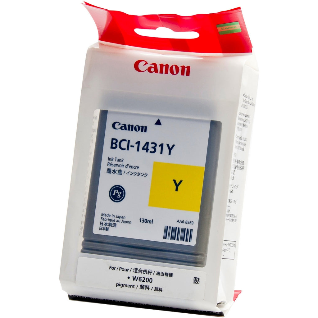 OEM Canon BCI-1431Y, 8972A006 Ink Cartridge Yellow - 130