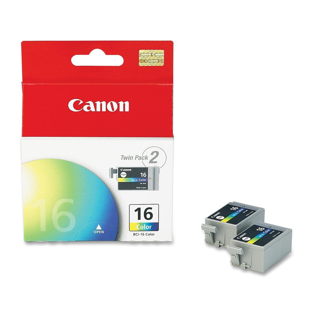OEM Canon BCI-16 Ink Cartridge - Color - 2 Pack