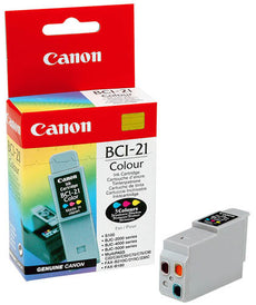 OEM Canon BCI-21C, 0955A003 Ink Cartridge 3-Color - 200